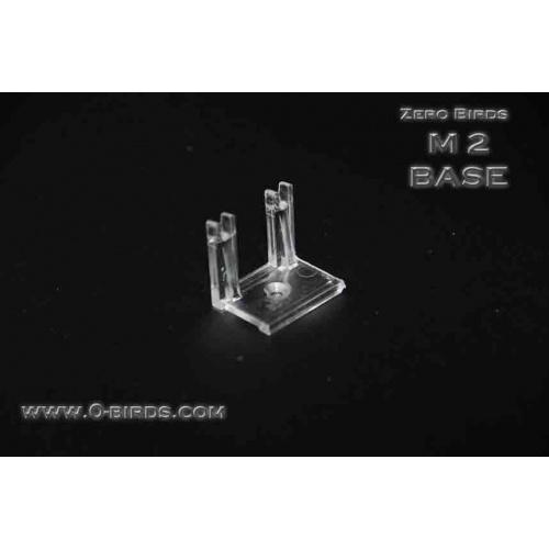 Polycarbonaat  Basis voetjes M-2 (voor 2 staven)