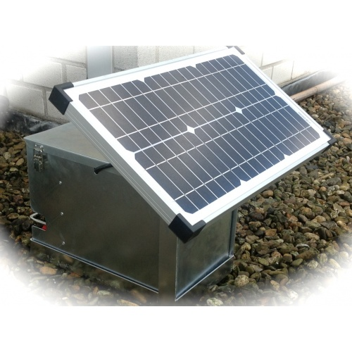 Pulsgenerator op zonne energie ZB PG Solar 20