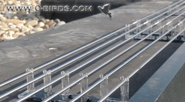 RVS / INOX Staven 1 meter lang, 3 mm dik