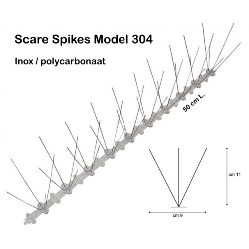 SCARE SPIKES Smal (9cm)